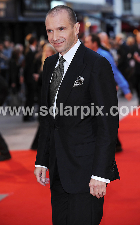 **ALL ROUND PICTURES FROM SOLARPIX.COM**.**WORLDWIDE SYNDICATION RIGHTS**.The world premiere of her latest movie The Duchess in London's Leicester Square this evening...This Pic:Ralph Fiennes.JOB REF: 7191      SSD     DATE:03.09.08.**MUST CREDIT SOLARPIX.COM OR DOUBLE FEE WILL BE CHARGED* *UNDER NO CIRCUMSTANCES IS THIS IMAGE TO BE REPRODUCED FOR ANY ONLINE EDITION WITHOUT PRIOR PERMISSION*