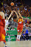 Spain's LLULL, Sergio during 2014 FIBA Basketball World Cup Group Phase-Group A, match Serbia vs Spain. Palacio  Deportes of Granada. September 4,2014. (ALTERPHOTOS/Raul Perez)