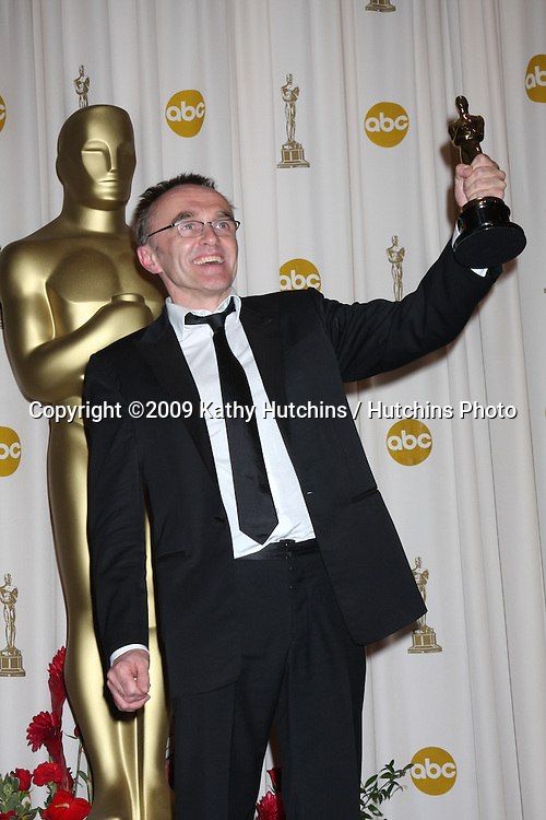 Danny Boyle  in the 81st Academy Awards Press Room at the Kodak Theater in Los Angeles, CA  on.February 22, 2009.©2009 Kathy Hutchins / Hutchins Photo...                .