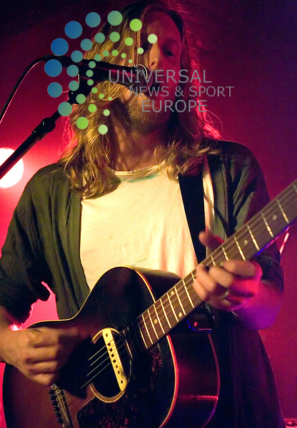 I Am Arrows, fronted by ex Razorlight drummer Andy Burrows, play at King Tuts in Glasgow on 19th September 2010. They have recently supported Muse in Paris and at Wembley Stadium.. .Pictures: Peter Kaminski/Universal News and Sport (Europe)2010