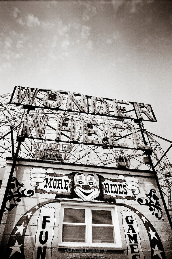 coney island, new york, brooklyn, people, strange, black & white, documentary, historical, rides, culture, melting pot, amusement park