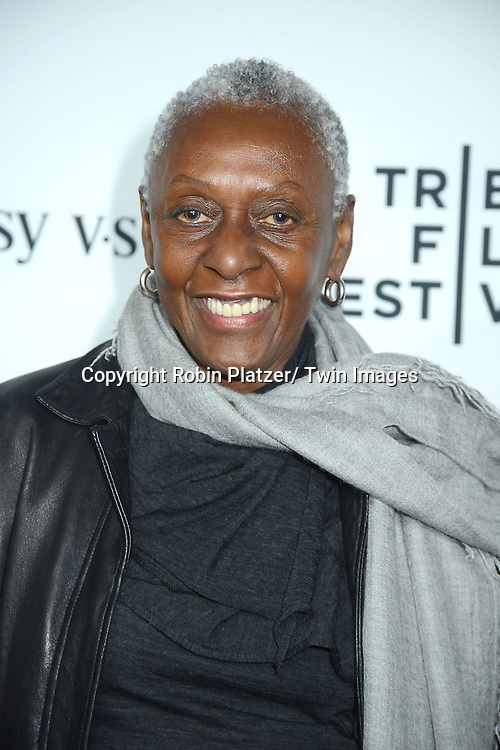 """Bethann Hardison attends the opening Night of the 2014 Tribeca Film Festival screening of """"Time Is Illmatic"""" on April 16, 2014 at the Beacon Theatre in New York City, USA."""
