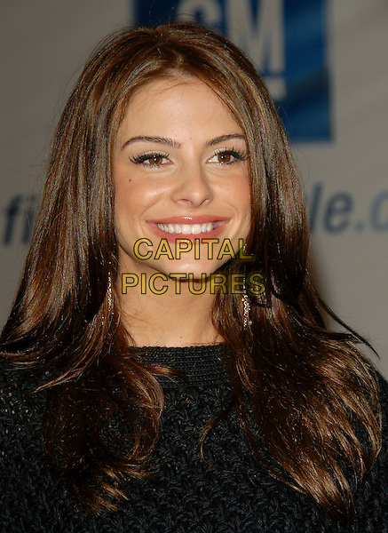MARIA MENOUNOS.Attends The 5th Annual GM Ten Fashion Show held on Vine St. in Hollywood, California, USA - Arrivals..February 28th, 2006.Ref: DVS.headshot portrait .www.capitalpictures.com.sales@capitalpictures.com.Supplied By Capital PIctures