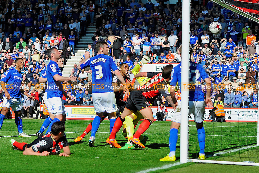 - AFC Bournemouth vs Birmingham City - Sky Bet Championship Football at the Goldsands Stadium, Bournemouth, Dorset - 06/04/15 - MANDATORY CREDIT: Denis Murphy/TGSPHOTO - Self billing applies where appropriate - contact@tgsphoto.co.uk - NO UNPAID USE