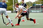 AMSTELVEEN  -  Boris Burkhardt (Adam) .  Hoofdklasse hockey dames ,competitie, heren, Amsterdam-Pinoke (3-2)  . COPYRIGHT KOEN SUYK