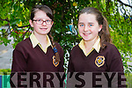 Kerry 1st year maths quiz at IT Tralee South campus on Friday. Pictured Niamh Nolan and Fiona Kelly from Presentation Listowel