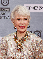 Los Angeles CA Apr 11: Barbara Rush, arrive to 2019 TCM Classic Film Festival Opening Night Gala And 30th Anniversary Screening Of &quot;When Harry Met Sally&quot;, TCL Chinese Theatre, Los Angeles, USA on April 11, 2019 <br /> CAP/MPI/FS<br /> &copy;FS/MPI/Capital Pictures