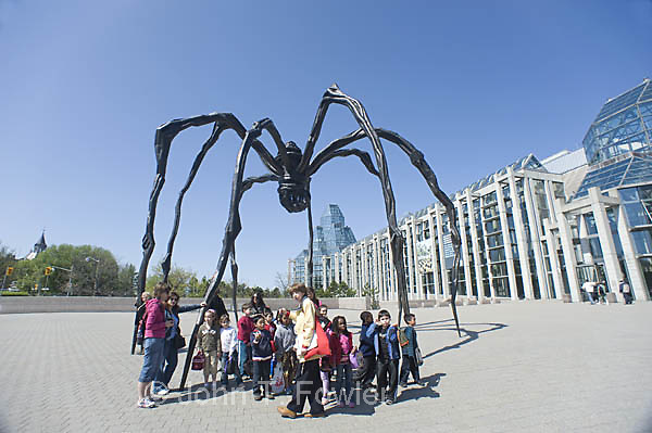 Maman, Spider sculpture at National Art Gallery, Ottawa, Canada