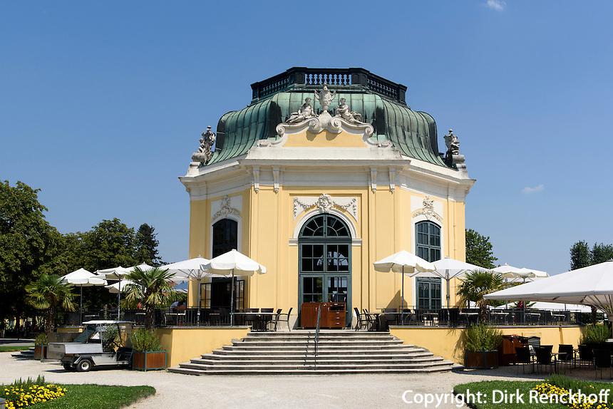 Kaiserpavillon im Tierpark Sch&ouml;nbrunn, Wien, &Ouml;sterreich, UNESCO-Weltkulturerbe<br /> Emperor's pavilion in zoo Sch&ouml;nbrunn, Vienna, Austria, world heritage