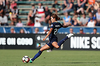 Cary, North Carolina  - Sunday May 21, 2017: Yuri Kawamura during a regular season National Women's Soccer League (NWSL) match between the North Carolina Courage and the Chicago Red Stars at Sahlen's Stadium at WakeMed Soccer Park. Chicago won the game 3-1.
