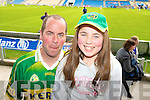 Mike and Mairead Sheehy, Listowel Kerry fans pictured at the GAA Chamoionship Quarter Final at Semple Stadium, Thurles on Sunday.