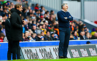Blackburn Rovers manager Tony Mowbray shouts instructions to his team from the technical area<br /> <br /> Photographer Alex Dodd/CameraSport<br /> <br /> The EFL Sky Bet Championship - Blackburn Rovers v Norwich City - Saturday 22nd December 2018 - Ewood Park - Blackburn<br /> <br /> World Copyright © 2018 CameraSport. All rights reserved. 43 Linden Ave. Countesthorpe. Leicester. England. LE8 5PG - Tel: +44 (0) 116 277 4147 - admin@camerasport.com - www.camerasport.com