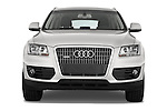 Straight front view of a 2009 - 2012 Audi Q5 Ambiente 5 Door Suv 4WD
