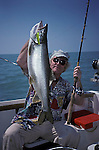 Lake trout fishing Lake Ontario Canada<br />