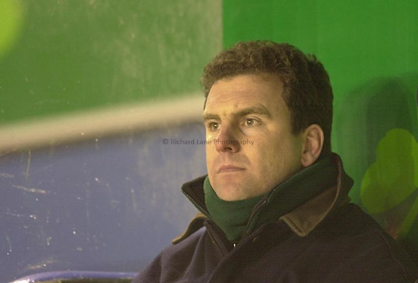 Photo: Ken Brown.26.1.00  London Irish v Northampton.John Steele
