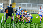 Action from Kerry v Waterford in the Munster Senior Hurling League in Austin Stack Park on Sunday