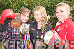 GIRL POWER: Kerry boxers Niamh Ball, Naomi O'Brien and Katie Purtill,
