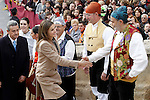 Princess Letizia of Spain visits Caspe village on November 7, 2012 in Alcaniz, Teruel, Spain. (ALTERPHOTOS/Acero)