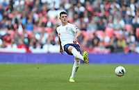 England's Declan Rice<br /> <br /> Photographer Rob Newell/CameraSport<br /> <br /> UEFA European Championship Qualifying Group A - England v Bulgaria - Saturday 7th September 2019 - Wembley Stadium - London<br /> <br /> World Copyright © 2019 CameraSport. All rights reserved. 43 Linden Ave. Countesthorpe. Leicester. England. LE8 5PG - Tel: +44 (0) 116 277 4147 - admin@camerasport.com - www.camerasport.com