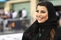 30th November 2019; Yas Marina Circuit, Abu Dhabi, United Arab Emirates; Formula 1 Abu Dhabi Grand Prix, qualifying day; FIA Women in Motorsport Commission member and Saudi Arabian racing driver Aseel Al Hamad - Editorial Use