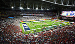 16FTB at Arizona 3843<br /> <br /> 16FTB at Arizona - Cactus Kickoff<br /> <br /> BYU Football defeated Arizona 18-16 in the Cactus Kickoff hosted at the University of Phoenix Stadium in Glendale, Arizona. It was also the first win for new Head Coach Kalani Sitake. <br /> <br /> September 3, 2016<br /> <br /> Photo by Tabitha Sumsion/BYU<br /> <br /> &copy; BYU PHOTO 2016<br /> All Rights Reserved<br /> photo@byu.edu  (801)422-7322