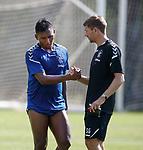 20.06.18 Steven Gerrard and Alfredo Morelos