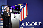 Enrique Cerezo during Josuha Guilavogui´s official presentation as an Atletico de Madrid´s new football player in Vicente Calderon Stadium, Madrid. September 13, 2013. (ALTERPHOTOS/Victor Blanco)