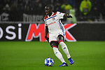 Olympique Lyons Ferland Mendy am Ball beim Spiel  in der Champions League, Olympique Lyon - TSG 1899 Hoffenheim.<br /> <br /> Foto &copy; PIX-Sportfotos *** Foto ist honorarpflichtig! *** Auf Anfrage in hoeherer Qualitaet/Aufloesung. Belegexemplar erbeten. Veroeffentlichung ausschliesslich fuer journalistisch-publizistische Zwecke. For editorial use only. DFL regulations prohibit any use of photographs as image sequences and/or quasi-video.