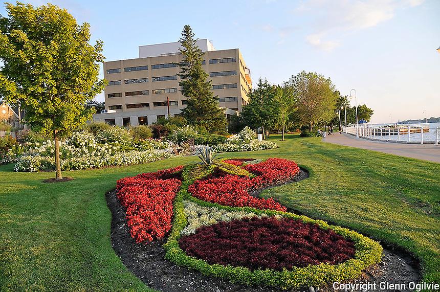Centennial Park floral gardens and new gazebo