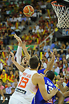 Spain's GASOL, Pau during 2014 FIBA Basketball World Cup Group Phase-Group A, match France vs Spain. Palacio  Deportes of Granada. September 2,2014. (ALTERPHOTOS/Raul Perez)