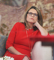 NEW YORK, NY- November 28: Savannah Guthrie on the set of NBC's Today Show in New York City . November 28, 2018. Credit: RW/MediaPunch