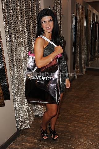 BOCA RATON, FL - JUNE 16: Teresa Giudice makes an appearance at Alene Too on June 16, 2011 in Boca Raton, Florida. © MPI04 / Media Punch Inc.