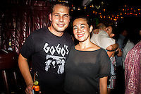 Shepard Fairey & Amanda Fairey Attend Mfg & Obey Giant Present Dance Right 10 Year Reunion on July 21, 2016 (Photo by Flavio Gonzalez/Guest Of A Guest)