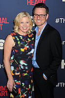 "NEW YORK CITY, NY, USA - MAY 12: Megan Hilty at the New York Screening Of HBO's ""The Normal Heart"" held at the Ziegfeld Theater on May 12, 2014 in New York City, New York, United States. (Photo by Celebrity Monitor)"