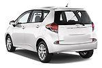 Car pictures of rear three quarter view of a 2015 Toyota Verso-S skyview 5 Door Hatchback 2WD Angular Rear