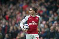 Arsenal's Hector Bellerin  during the EPL - Premier League match between Arsenal and Southampton at the Emirates Stadium, London, England on 8 April 2018. Photo by Andrew Aleksiejczuk / PRiME Media Images.