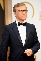 HOLLYWOOD, CA - MARCH 2: Christoph Waltz arriving to the 2014 Oscars at the Hollywood and Highland Center in Hollywood, California. March 2, 2014. Credit: SP1/Starlitepics. /NORTePHOTO