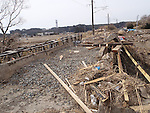"(FILE PHOTO) Tomioka, Japan - A photo released on February 28, 2012 shows a general view of the destruction inside the Fukushima nuclear zone. Naoto Matsumura (52) is a rice farmer living alone about 12km away from the crippled Fukushima Dai Ichi nuclear power plant. This puts him well within the government imposed danger exclusion zone but he has refused steadfastly to evacuate from his hometown, Tomioka since the March 11th 2011 disaster happened. Before the nuclear crisis took hold his town was home to 16,000 but now Matsumura-san is the only inhabitant. He has been surviving on canned food cooked on a gas stove and provided by volunteers as he still has no electric power. Most of his days are spent looking after abandoned animals including pets and farm animals left by victims and evacuees. These are his only company. He requested help from the government for this but was told that all they could do was to kill the animals. Matsumura now believes that the reason the government built the nuclear plant in Fukushima was because they didn't believe it was safe enough to have near Tokyo. He describes his mission as one to recover the area, which was completely destroyed by the tsunami, earthquake, and radiation. He says ""I will never leave my hometown despite the radiation. I hope to see TEPCO (Tokyo Electric Power Company which operates the nuclear plant) crushed."" (Photo by Naoto Matsumura/Handout/AFLO)"
