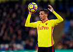 Watford's Jose Holebas in action during the premier league match at Selhurst Park Stadium, London. Picture date 12th December 2017. Picture credit should read: David Klein/Sportimage