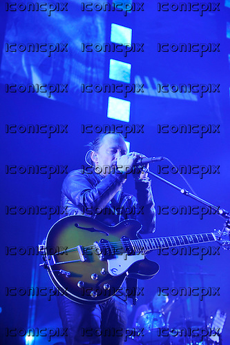 RADIOHEAD - Thom Yorke - performing live at the Rounndhouse in London UK - 26 May 2016.  Photo credit: Zaine Lewis/IconicPix
