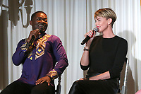 LOS ANGELES - OCT 10:  David Oyelowo, Charlize Theron at the GEANCO Foundation Hollywood Gala at the SLS Hotel on October 10, 2019 in Beverly Hills, CA