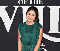 "13 February 2020 - Hollywood, California - Ashley Liao. ""The Call of the Wild"" Twentieth Century Studios World Premiere held at El Capitan Theater. Photo Credit: Dave Safley/AdMedia"