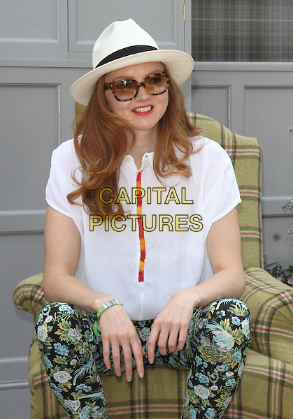 LONDON, ENGLAND - MAY 19: Lily Cole attends the Press and VIP preview day of The RHS Chelsea Flower Show at The Royal Hospital Chelsea on May 19, 2014 in London, England.<br /> CAP/JIL<br /> &copy;Jill Mayhew/Capital Pictures