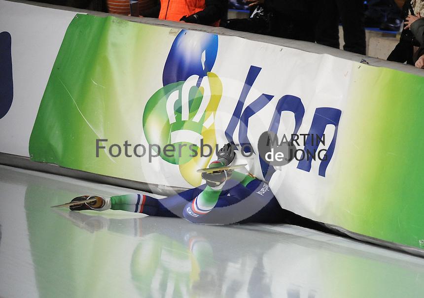 SCHAATSEN: ERFURT: Gunda Niemann Stirnemann Eishalle, 22-03-2015, ISU World Cup Final 2014/2015, Mass Start Ladies, Irene Schouten (#2 | NED), ©foto Martin de Jong