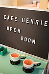 Andr&eacute; Saraiva's new Cafe Henri  in Chinatown. The ceramics are by artist Peter Shire.<br /> <br /> Danny Ghitis for The New York Times