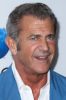 """LOS ANGELES, CA - OCTOBER 02: Actor Mel Gibson arrives at the Premiere Of Open Road Films' """"Machete Kills"""" held at Regal Cinemas L.A. Live on October 2, 2013 in Los Angeles, California. (Photo by Xavier Collin/Celebrity Monitor)"""