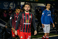 Blackburn Rovers' Bradley Dack takes to the pitch<br /> <br /> Photographer Andrew Kearns/CameraSport<br /> <br /> The EFL Sky Bet League One - Portsmouth v Blackburn Rovers - Tuesday 13th February 2018 - Fratton Park - Portsmouth<br /> <br /> World Copyright &copy; 2018 CameraSport. All rights reserved. 43 Linden Ave. Countesthorpe. Leicester. England. LE8 5PG - Tel: +44 (0) 116 277 4147 - admin@camerasport.com - www.camerasport.com