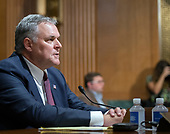 Charles P. Rettig testifies before the United States Senate Committee on Finance on his nomination to be Commissioner Of Internal Revenue (IRS) on Capitol Hill in Washington, DC on Thursday, June 28, 2018.<br /> Credit: Ron Sachs / CNP