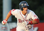 June 2, 2009: Catcher Tim Federowicz (18) of  the Greenville Drive, Class A affiliate of the Boston Red Sox, in a game against the Asheville Tourists at Fluor Field at the West End in Greenville, S.C. Photo by: Tom Priddy/Four Seam Images