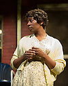 FENCES, by August Wilson, opens at the Duchess Theatre, in London's West End, following a successful run at Theatre Royal Bath. Lenny Henry takes on the lead role of Troy Maxson in, this production, which is directed by Paulette Randall. Picture shows: Tanya Moodie (Rose).